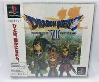 Dragon Quest VII 7 PS1 Sony Japan Import PlayStation PSX ENIX DQ Complete NTSC-J