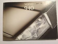 VOLVO 940 SERIES OWNERS MANUAL DRIVERS HANDBOOK 1995 PETROL DIESEL TURBO MODELS