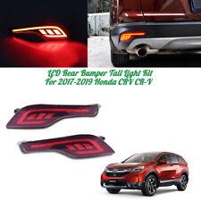 For Honda CR-V CRV 2017-19 LED Rear Bumper Brake Tail Lights Fog Lamp JSR Style