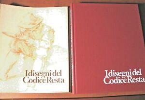 I DISEGNI DEL CODICE RESTA- 1976-  schede G. Bora - Credito- VEDI LIBRI D'ARTE