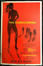 The Homecoming Harold Pinter Broadway windowcard 1967