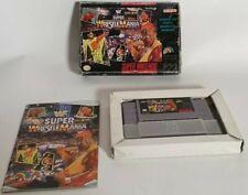 WWF Super Wrestlemania (USA NTSC – NOT FOR UK CONSOLES) (SNES)