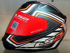 LS2 Helmets - FF352 - Ranger Black Orange - Full Face Imported Motorcycle Helmet