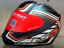 LS2 Helmets - FF352 - Ranger Black Orange - Full Face Imported Motorcycle Helmet