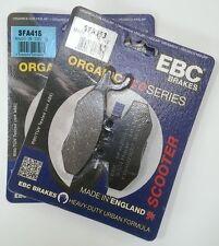 Piaggio X9 250 (2005 to 2006) EBC Organic FRONT Disc Brake Pads (SFA353/SFA418)