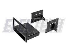 Radio Replacement Car Dash Mount Kit Single-DIN w/Pocket Installation for Nissan