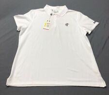 Under Armour Women's SS Golf Shirt Polo (XL, White)(Blemish)(NWT) MSRP $52