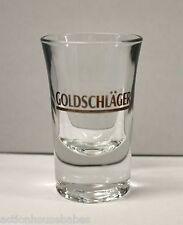 "3.5"" SHOT GLASS SHOOTER GOLDSCHLAGER SWISS CINNAMON SCHNAPPS"