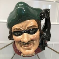 """Royal Doulton Character Dick Turpin 3.75"""" Toby Pitcher Jug Mug 1959"""