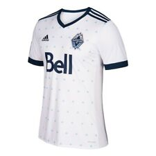 Vancouver Whitecaps FC MLS Adidas Men's White Official Climacool Replica Jersey