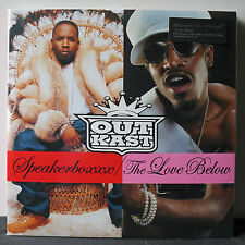 OUTKAST 'Speakerboxxx/The Love Below' Audiophile 180g Vinyl 4LP NEW & SEALED