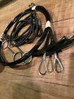 HOBIE CAT H14 Trapeze Wires Kit  Pair of Black Vinyl Coated Wires With Handles