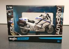 "Maisto 4.5"" YAMAHA FJR1300A CHP AUTHORITY POLICE MOTORCYCLE DIECAST MODEL 1:18"