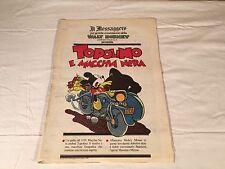 TOPOLINO E MACCHIA NERA il messaggero 3 GIUGNO 1989