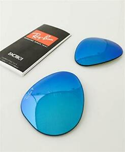 Sealed RAYBAN Sunglass Lens Replacements RB3025 POLARIZED Blue Flash Mirror 58mm