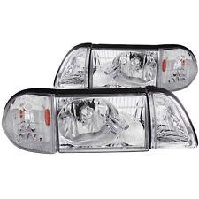 Headlight Set-Crystal ANZO 121195