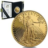 2010 W 1 oz $50 Proof Gold American Eagle (w/Box & COA)
