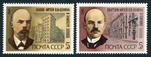 Russia 5362-5363,5364,MNH.Michel 5502-5503,Bl.183. Vladimir Lenin-115.1985.