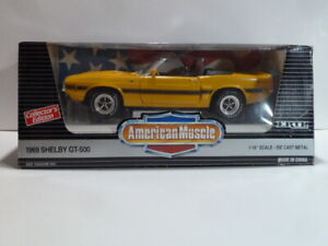 American Muscle 1969 Shelby Mustang GT-500 Convertible, Collector's Edition, NIB
