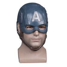 The Avengers Mask Captain America Steven Helmet Halloween Soft Latex MasK Props