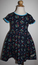 New K PEA Size 4 VELMA Floral Print Jersey Cap Sleeve Dress