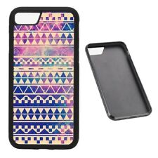 Galaxy Aztec Pattern RUBBER phone case Fits iPhone