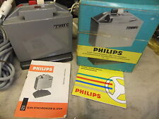 Slide projector SOUND SLIDE SYNCHRONIZER PHILIPS EL 3769 BOX + LEAD instructions