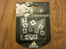 Adidas World Cup Stud Receptacles XTRX SG Full Set Aluminium NEW