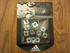 Adidas World Cup Stud Receptacles XTRX SG Full Set Aluminium NEW