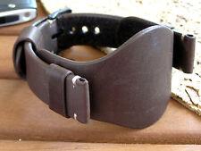 Watch Strap Band Genuine Brown 20mm 22mm Leather's Force WristWatch Bund Band