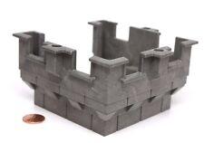 "Playmobil Dragon Rock Castle System X Dark Grey ""Stone"" Tower Top 3269 5757"