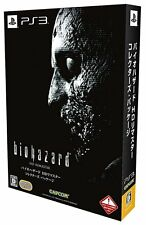 Used PS3 Biohazard HD Remaster Collector's Package Resident Evil Capcom JAPAN