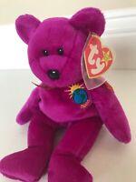 Ty Beanie Baby Millennium 2000 Bear ***Rare***Retired***