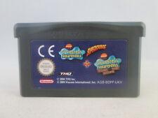 Nintendo Gameboy Advance GBA SP - SpongeBob Supersponge + Flying Dutchman 2 in 1