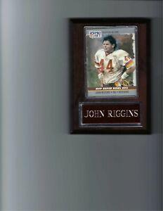 JOHN RIGGINS PLAQUE WASHINGTON REDSKINS FOOTBALL NFL   C2