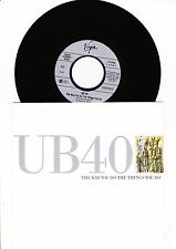 "7"" - UB40 - The Way You Do The Things You Do -------"