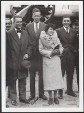 Charles et Anne Lindbergh. Photographie signée. vers 1930