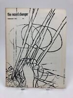 Vintage February 1954 THE RECORD CHANGER Jazz Music Magazine, Silverman Cover