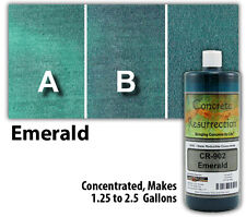 Professional Easy to Apply Water Based Concrete Stain - Emerald