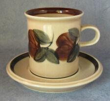 ARABIA OF FINLAND, Vintage, Ruija Coffee Cup & Saucer, Excellent