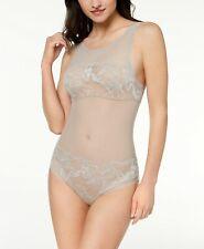 NWD Calvin Klein Bird Sheer Lace Bodysuit QF4677 Size L