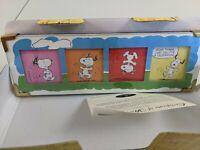 "Hallmark PEANUTS Gallery ""Celebrate!"" Comic Strip Snoopy QPC4015 NEW"