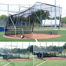 Foldable, Portable Batting Cage 16.5'W x 16.5'D x 11'H