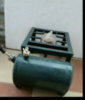 Vintage antique iron camping kooking Kerosene pressure  stove