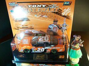 Tony Stewart #20 Home Depot Atlanta Raced Version Win 2002 Pontiac GP Hula Girl