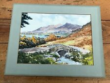 More details for 1982 signed watercolour of