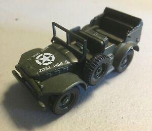 Solido Diecast WW2 US Army Dodge 4x4 1/50