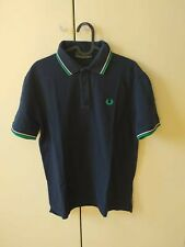 Polo Fred Perry Uomo Blu 42