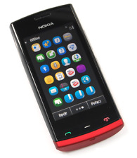 RED NOKIA 500 UNLOCKED RM-750 CELL PHONE CELLULAR FIDO TELUS CHATR AT&T ROGERS++