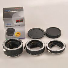 metal Meike AF Macro Auto Focus Metal Extension Tube Set for Canon Camera